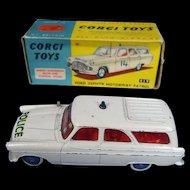 Corgi Toys 419 - Ford Zephyr Motorway Patrol 1960-65