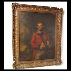 Portrait Of Baron Heathfield Of Gibraltar, After Joshua Reynolds Circa 1810