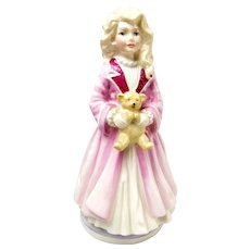 Limited Edition Royal Doulton Faith Child & Teddy Bear Figurine