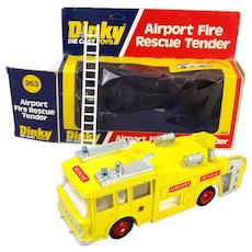 Boxed Dinky Toys No. 263 - Airport Fire Rescue Tender