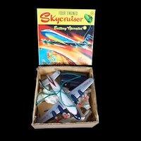 Boxed Tinplate Louis Marx & Co. Four Engine Skycruiser Aeroplane Toy