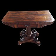 Lord C Beresford's Antique Folding Card Table