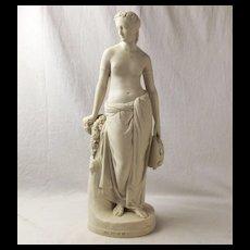 Neoclassical Parian (Feldspar) Figurine - Art Union Of London 1848