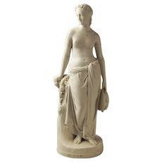 Neoclassical Parian (Feldspar) Figurine - Art Union Of London 1848