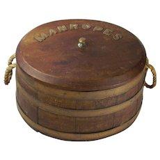 Late 19th Century Navy Rum Tub – Manropes