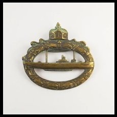 WW1 German Imperial U-Boat Badge