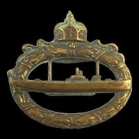 WW1 German Imperial U-Boat Badge