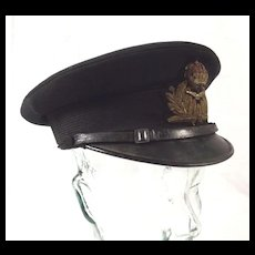 WW1 Period Royal Navy Air Service Combat Visor Cap