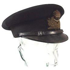 WW1 Period Royal Navy Air Service Combat Visor Cap