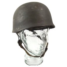 WW2 German Original M45 Fallschirmjager Paratrooper Helmet