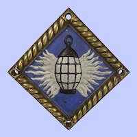 HMS Glowworm Bronze Ships Boat Badge