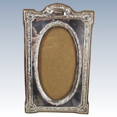 Silver On Wood Picture Frame – Birmingham 1904