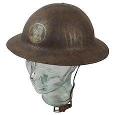 WW1 British Army War Office Pattern Brodie Helmet