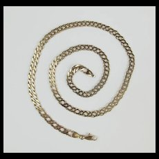 9Ct Yellow Gold Double Link Chain - 20 Inches