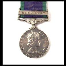 General Service Medal - Sgt. W. J. Horeman