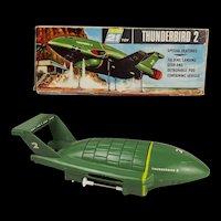 c1960's Boxed Original Thunderbird 2 Toy - AJR 21 J. Rosenthal Toys Ltd