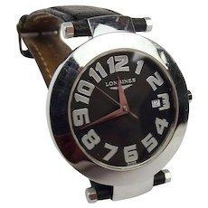 Gents Longines DolceVita Round Quartz Wrist Watch