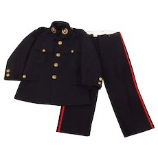 A Royal Marine Child's Uniform