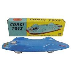 Corgi Toys # 153a Proteus Campbell Bluebird Record Car c1961-65