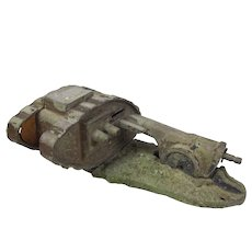 Early 20th Century Starkies Cannon & Tank Money Box