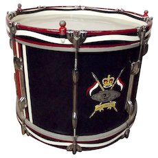 Junior Leaders' Marching Band Drum - Royal Armoured Corps