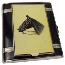 Walter Lampl Cigarette Case & Compact c1920/30s