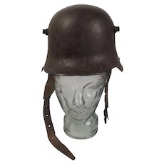 WW1 German Stalhelm Dated 1917