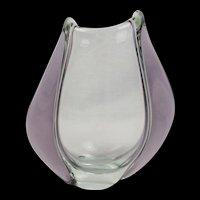 Zelezny Brod Sklo ZBS Bohemian Glass Vase