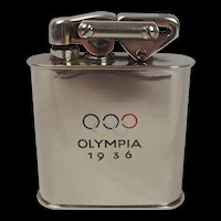 Original 1936 Olympics Cigarette Lighter