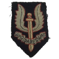 World War 2 SAS Cap Badge