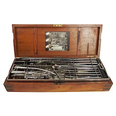 1903 Cased Campaign Surgical Instruments Set