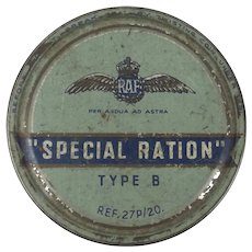 WW2 RAF Special Ration Tin