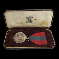 Imperial Service Medal Awarded To James Austin