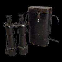 Cased Pair of German WW1 Marine Binoculars – Carl Zeiss DF 7X