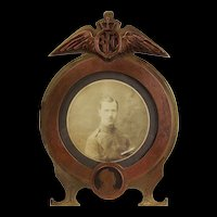 WW1 Royal Flying Corps Trench Art Picture Frame