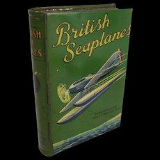 Lyons British Seaplanes Toffee Tin c1930's