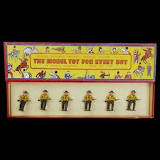 Boxed Set Of Cowboy Figures - The Model Toy For Every Boy  c1950's
