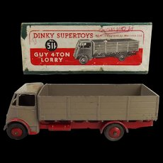 Boxed Dinky Supertoys 511 –Guy 4-Ton Lorry Red/Fawn