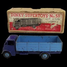 Boxed Dinky Supertoys 511 – Guy 4-Ton Lorry In Blue
