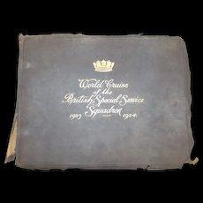 World Cruise Of the British Special Service Squadron 1923-24 Photo Album