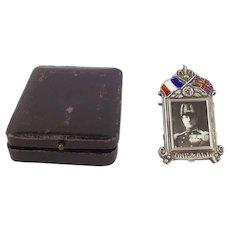 WW1 Period Admiral Jellicoe Remembrance Silver Frame