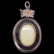 WW1 Soldier's Father Silver Pendant