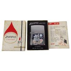 A Rare Moon Landing Edition Boxed Zippo