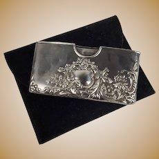 Birmingham Silver Card Case 1904