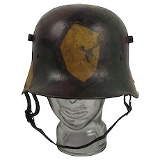 German Imperial WW1 Model 1917 Stahlhelm
