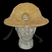 WW1 The South Wales Borderers 1st Battalion Brodie Helmet