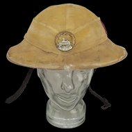 WW2 The South Wales Borderers 1st Battalion Brodie Helmet