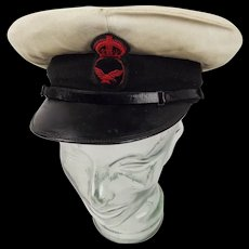 WW1 Royal Navy Air Service Petty Officer's Cap