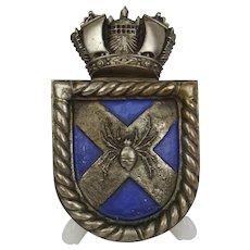 HMS Bruce Boat Badge (D81) 1918