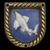 HMS Shark Boat Badge 1918